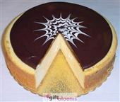 3 Lb Chocolate Topped New York Style Cheesecake -